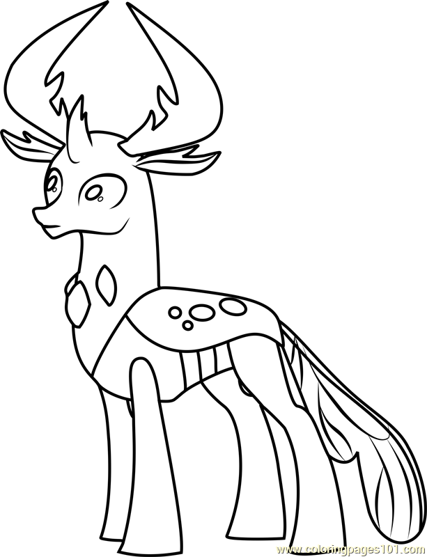 Thorax Coloring Page