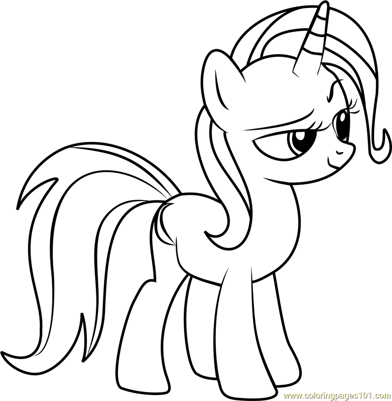 Trixie Coloring Page