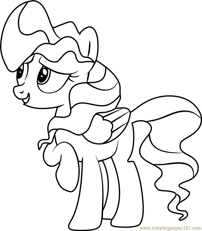 Vapor Trail Coloring Page