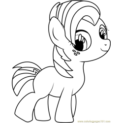 Babs Seed Free Coloring Page for Kids