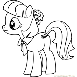 Coco Pommel coloring page
