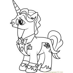 Fancy Pants Free Coloring Page for Kids