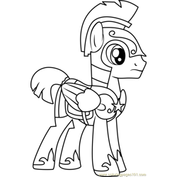 Flash Sentry Free Coloring Page for Kids