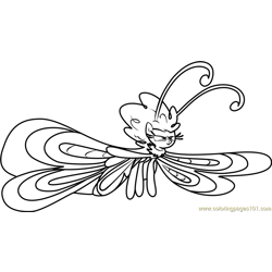 Seabreeze Free Coloring Page for Kids