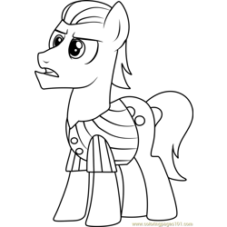 Silver Shill Free Coloring Page for Kids