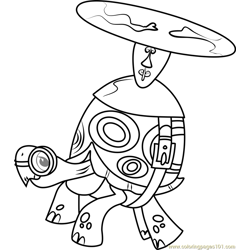 Tank Free Coloring Page for Kids