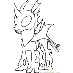 Thorax Mature Free Coloring Page for Kids