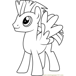 Thunderlane coloring page