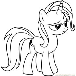 Trixie Free Coloring Page for Kids