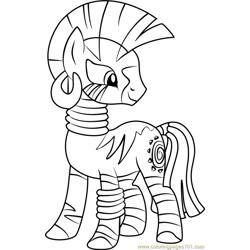 Zecora Free Coloring Page for Kids