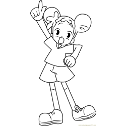 Hurrey Free Coloring Page for Kids