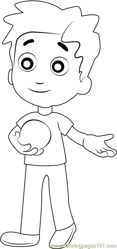 Alex Porter Coloring Page Free Paw Patrol Coloring Pages