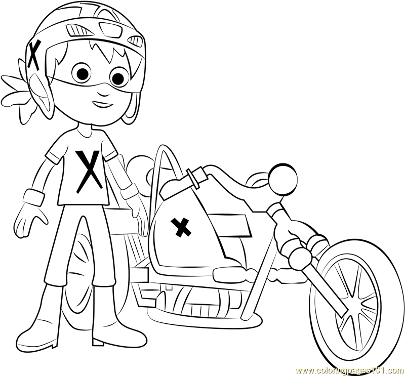 Danny Coloring Page Free Paw Patrol Coloring Pages