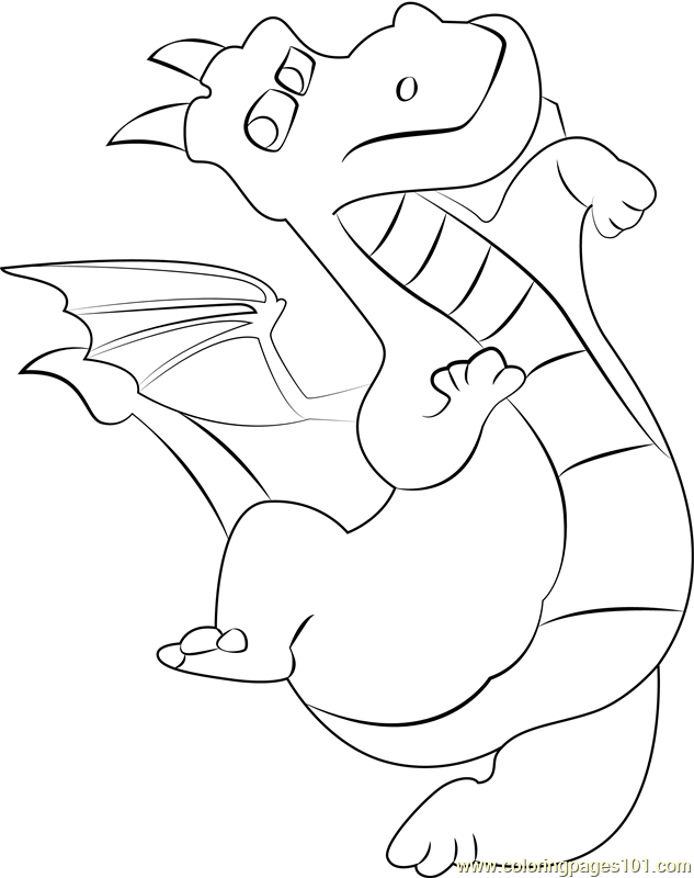 Dragon Coloring Page Free Paw Patrol Coloring Pages