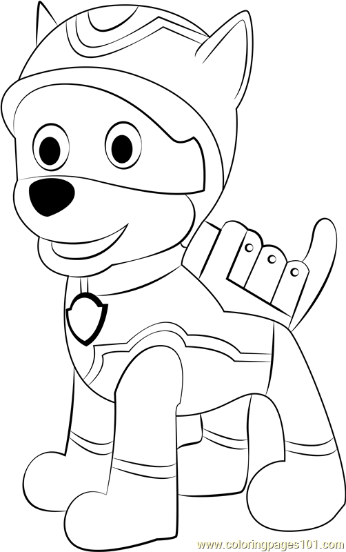 Super Spy Chase Coloring Page
