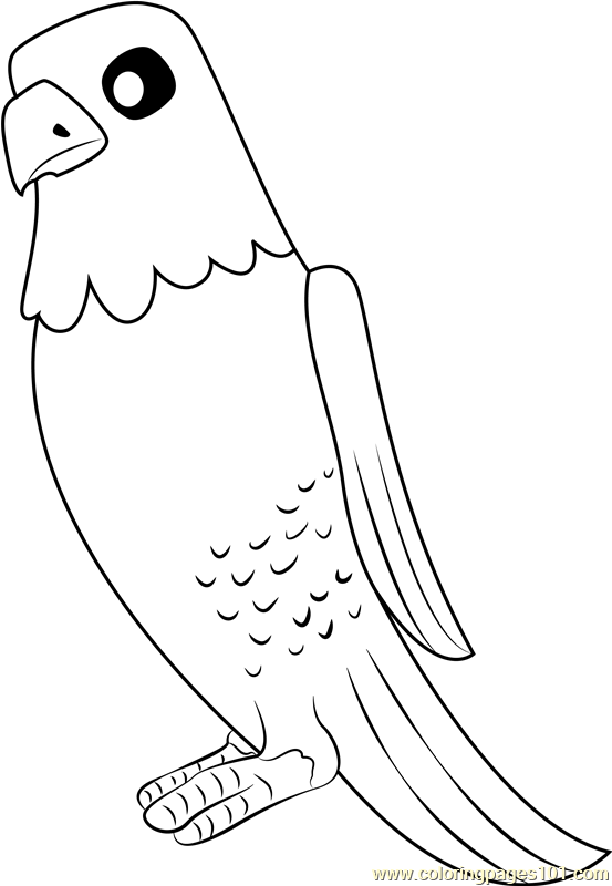 The Eagle Coloring Page Free Paw Patrol Coloring Pages