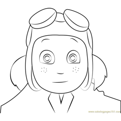 Ace Sorensen Free Coloring Page for Kids