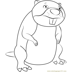 Chompy the Beaver