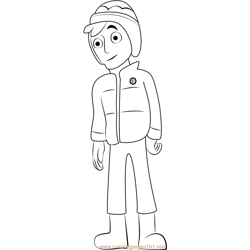 Jake Free Coloring Page for Kids