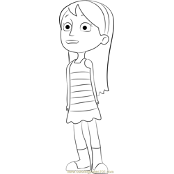 Katie Free Coloring Page for Kids