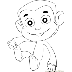 Mandy coloring page