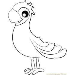 Matea Free Coloring Page for Kids