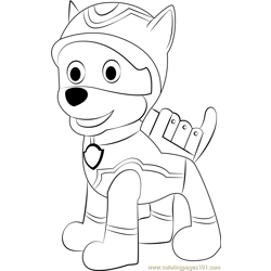 Super Spy Chase Free Coloring Page for Kids