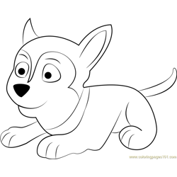 Sylvia Free Coloring Page for Kids