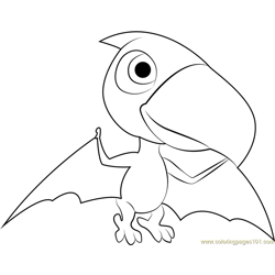 Terry Free Coloring Page for Kids