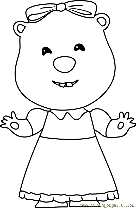 Loopy Coloring Page - Free Pororo the Little Penguin Coloring Pages ...