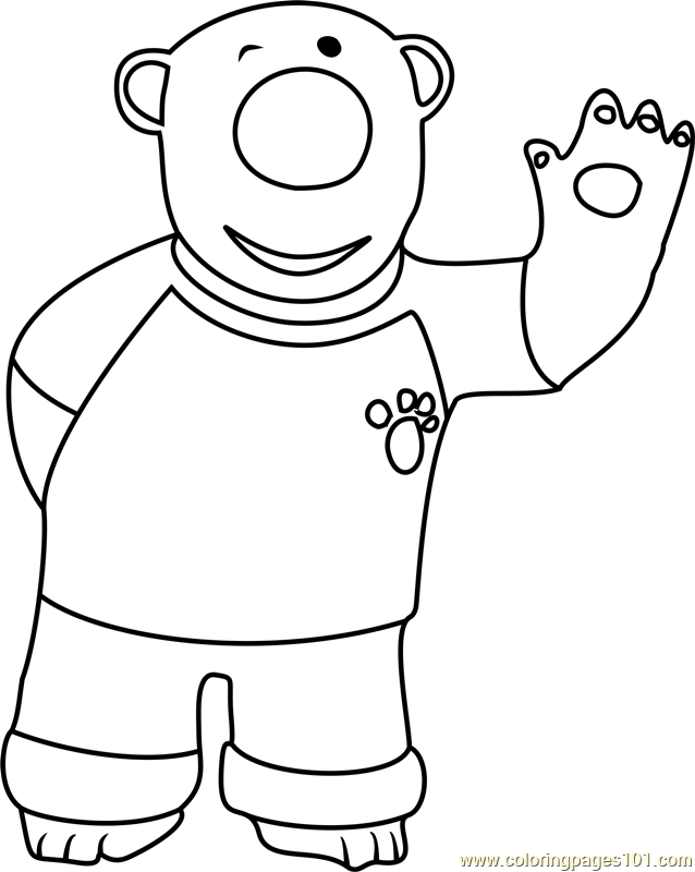 Poby Coloring Page Free Pororo The Little Penguin