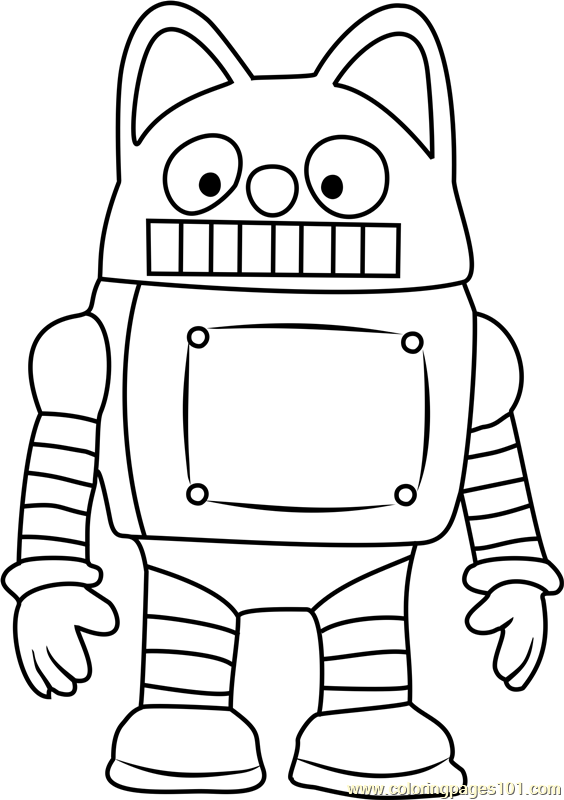 Rody Coloring Page Free Pororo The Little Penguin Pororo Coloring Pages
