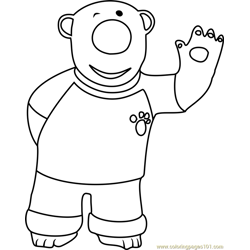 Poby Free Coloring Page for Kids