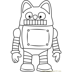 Rody Free Coloring Page for Kids