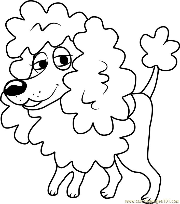 Pound Puppies Babette Coloring Page