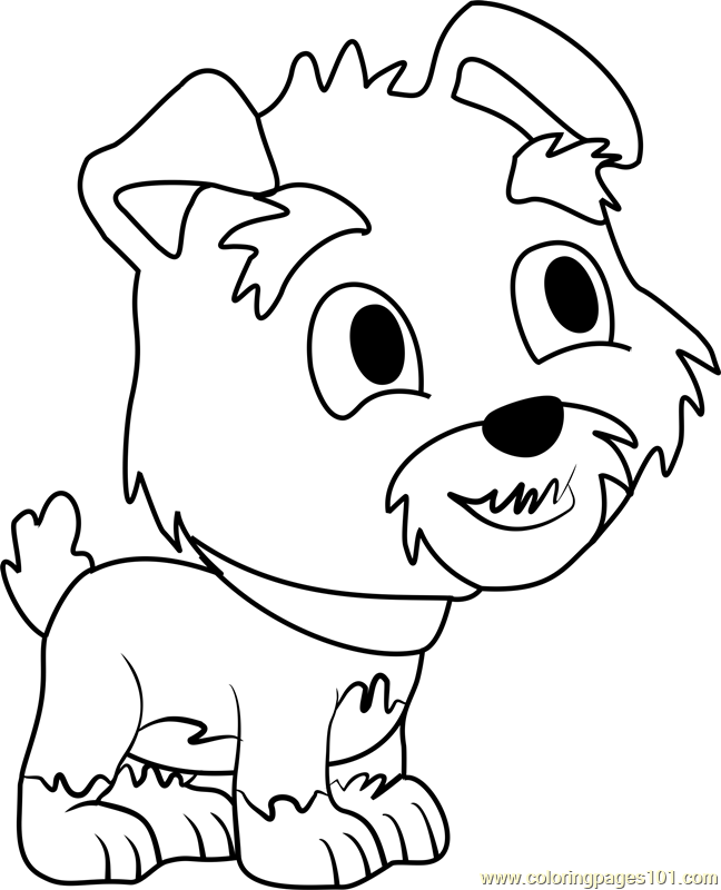 Pound Puppies Humphrey Coloring Page Free Pound Puppies