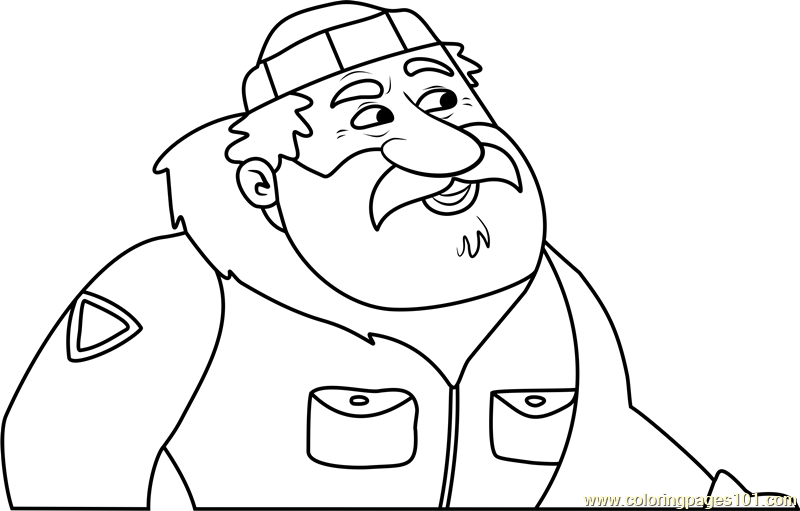 pound puppies jean luc glaciaire coloring page