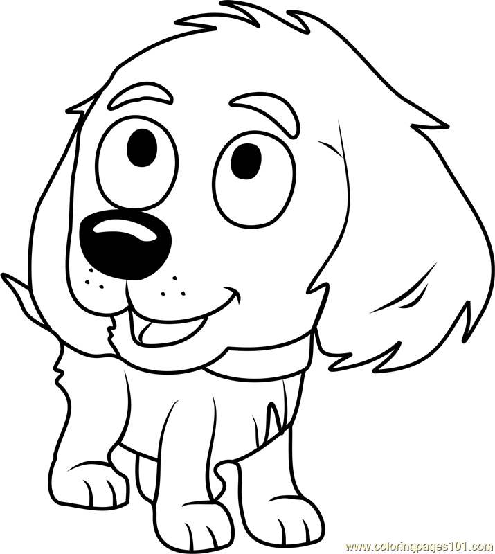 the pound puppies coloring pages - photo#48