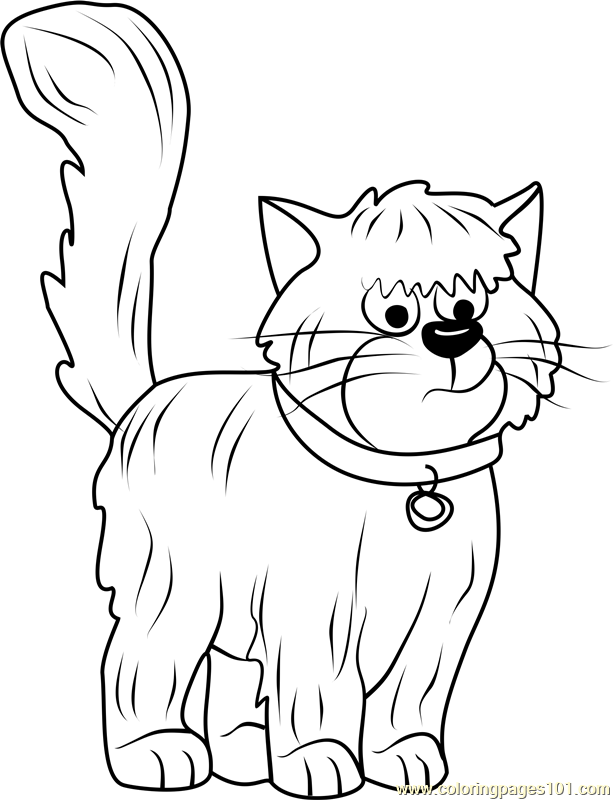 Pound Puppies Tiny Coloring Page