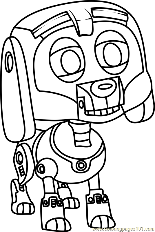 the pound puppies coloring pages - photo#27