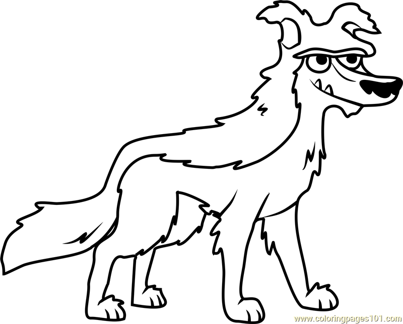 Pound Puppies Woof-Bark-Tooth Coloring Page