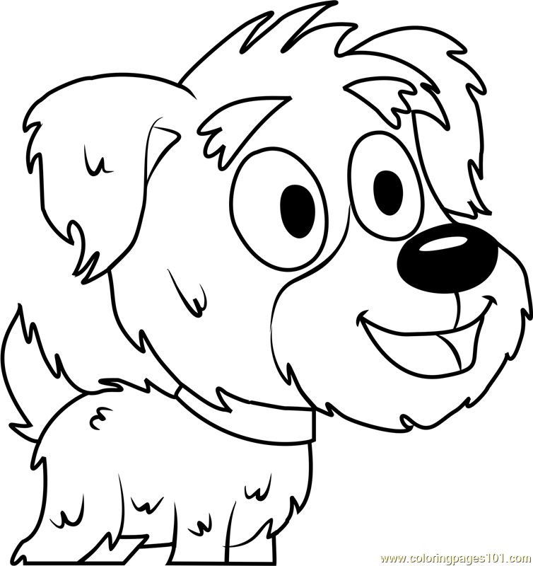 Pound Puppies Yakov Coloring Page Free Pound Puppies
