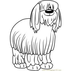 Pound Puppies Niblet the Old English Sheepdog