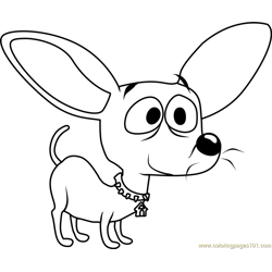 Pound Puppies Squirt the Chihuahua