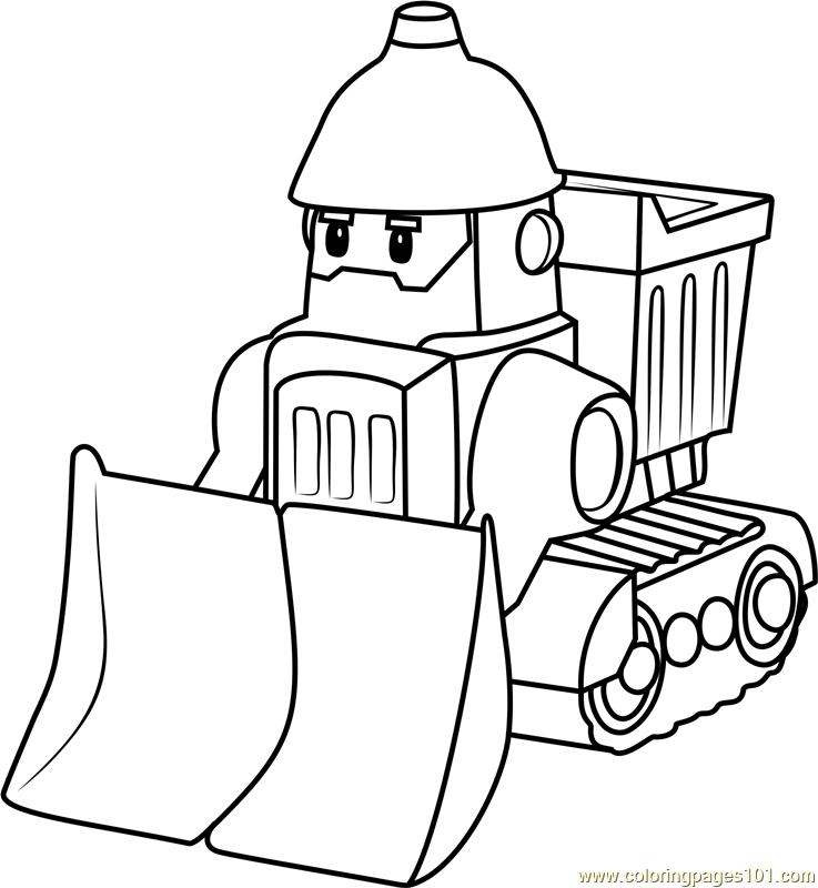 Bruner coloring page free robocar poli coloring pages for Robocar poli coloring pages