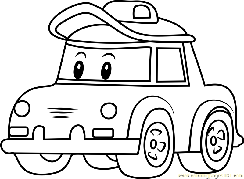 Cap Coloring Page