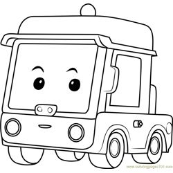 Beny Free Coloring Page for Kids