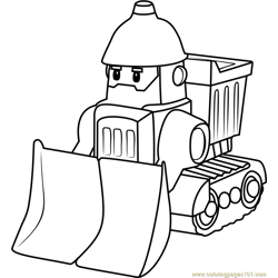 Bruner Free Coloring Page for Kids