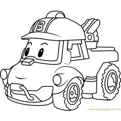 Bucky Free Coloring Page for Kids