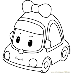 Mini Free Coloring Page for Kids